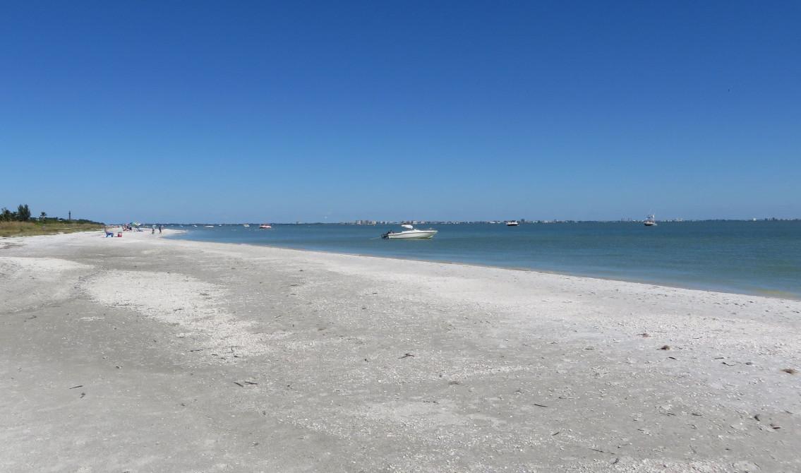 12 Miles of Shell Strewn Beaches